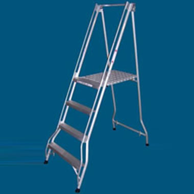 Platform Ladders -Aluminium-200 KG-ALLWELD FPS