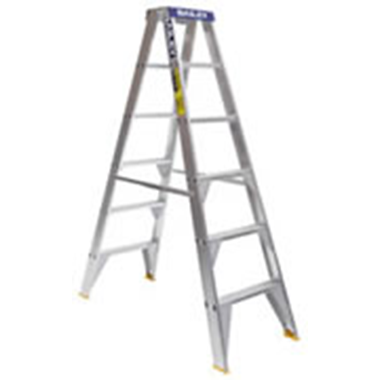 Aluminium Double Sided Step Ladders