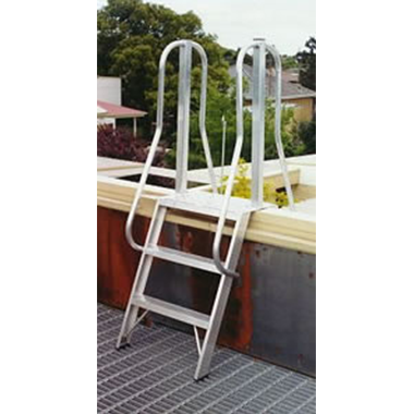Aluminium Roof Access Ladder - Short Side