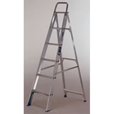Aluminium Single Sided Step Ladders