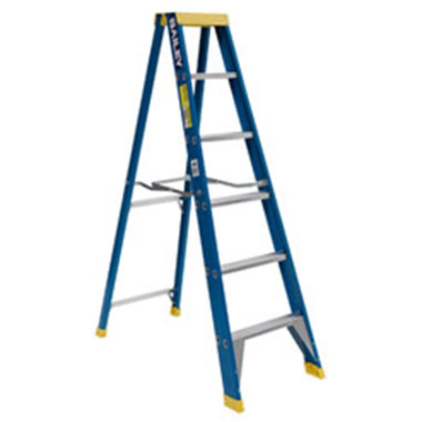 Single / Straight Ladders - Fibreglass 125 Kg - Bailey FSS