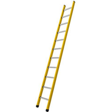 Single / Straight Ladders - Fibreglass 140 Kg - Branach FNR