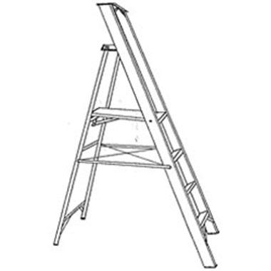 Platform Ladders-Aluminium-150 KG-C KENNETT SP