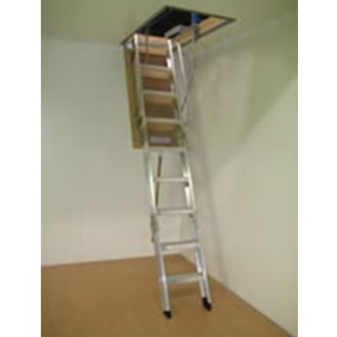 Attic / Ceiling Ladders - COMMERCIAL RATED - 150KG - Commercial Boss