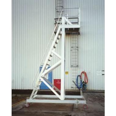 Custom Mobile Aluminium Isotainer Platform