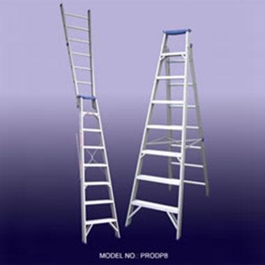Indalex PRODP 150Kg Aluminium Dual Purpose Ladder