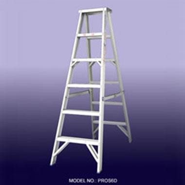 Step Ladders - Aluminium Double Sided 180 Kg - Indalex PROSD