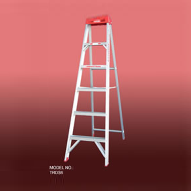 Step Ladders - Aluminium Single Sided 135 Kg - Indalex TRDS