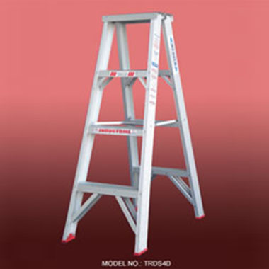 Step Ladders - Aluminium Double Sided 135 Kg - Indalex TRDSD