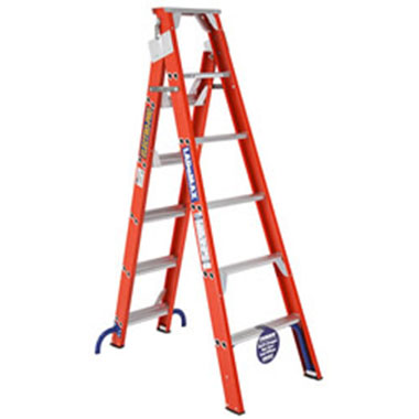 LADaMAX 150Kg Fibreglass Dual Purpose Ladder