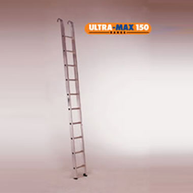 Single / Straight Ladders - Aluminium 150Kg - LADaMAX SI