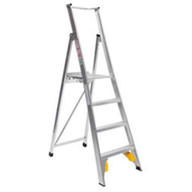 Platform Ladders - Aluminium-150 KG-Ladderweld PS