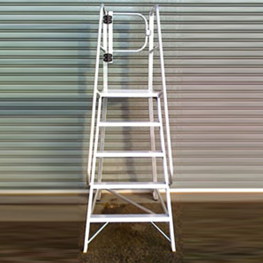 Truck Access Platforms - Ladder Shop Tap