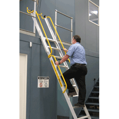 Mezzanine Ladders -Stockmaster™ Mezzalad