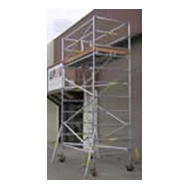 Star Aluminium Scaffold (Various lengths & widths) 450Kg Medium Duty Scaffold