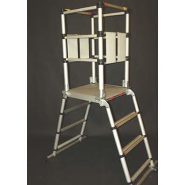 Aluminium Scaffolds - TELEPOD - Telescopic Mobile Podium
