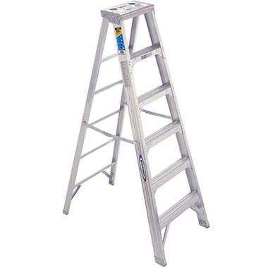 Step Ladders - Aluminium Double Sided 150 Kg - Werner 400AZ