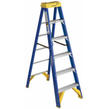 Step Ladders - FIBREGLASS 150 KG - Werner 6300AZ