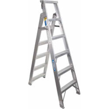 Werner DP400AZ Series 150Kg Aluminium Dual Purpose Ladder