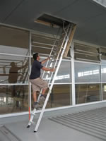 Attic / Ceiling Ladders - COMMERCIAL RATED - 150KG - Commercial Big Boss