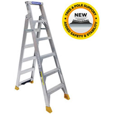 "Dual Purpose Ladders - Bailey - Aluminium 150Kg - Bailey 150 DP with ""V"" Rung"